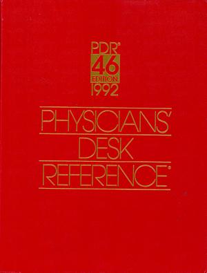 Physicians  Desk Reference  1992 PDF