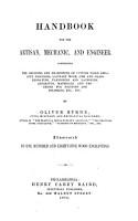 Handbook for the Artisan  Mechanic  and Engineer PDF