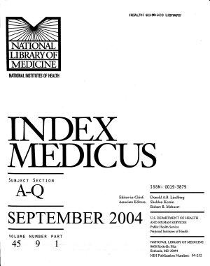 Index Medicus PDF
