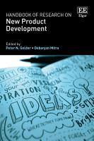 Handbook of Research on New Product Development PDF