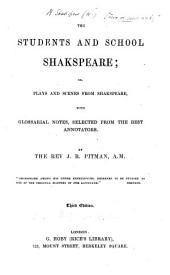 The Students and School Shakspeare, Etc. Third Edition