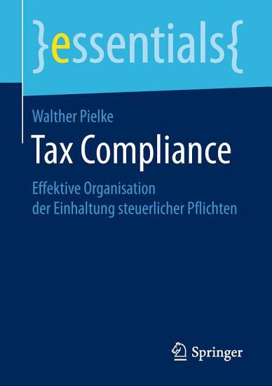 Tax Compliance PDF