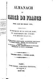 Almanach du clergé de France