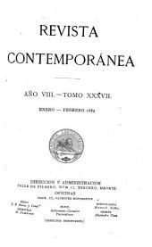 Revista contemporánea: Volume 37