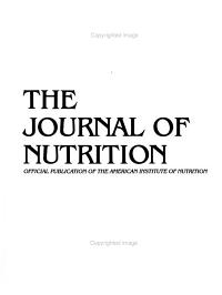 The Directory of Graduate Programs in Nutritional Sciences PDF