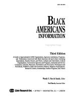 Black Americans Information Directory PDF