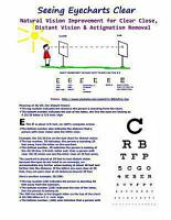 Seeing Eyecharts Clear   Natural Vision Improvement for Clear Close  Distant Vision   Astigmatism Removal PDF