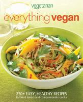 Vegetarian Times Everything Vegan PDF