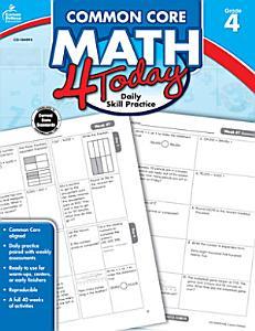 Common Core Math 4 Today  Grade 4 PDF