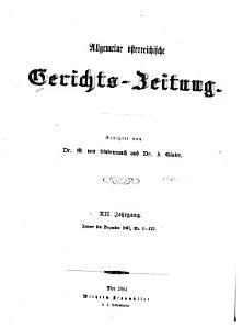 Gerichts Zeitung PDF