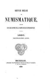 Revue belge de numismatique et de sigillographie: Volume36