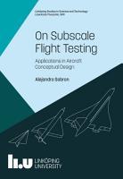 On Subscale Flight Testing PDF