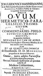 Ovum Hermetico-Paracelsico-Trismegistum