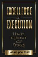 Excellence in Execution PDF