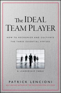 The Ideal Team Player Book