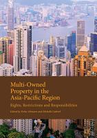 Multi Owned Property in the Asia Pacific Region PDF