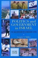 Politics and Government in Israel