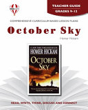 October Sky Teacher Guide PDF