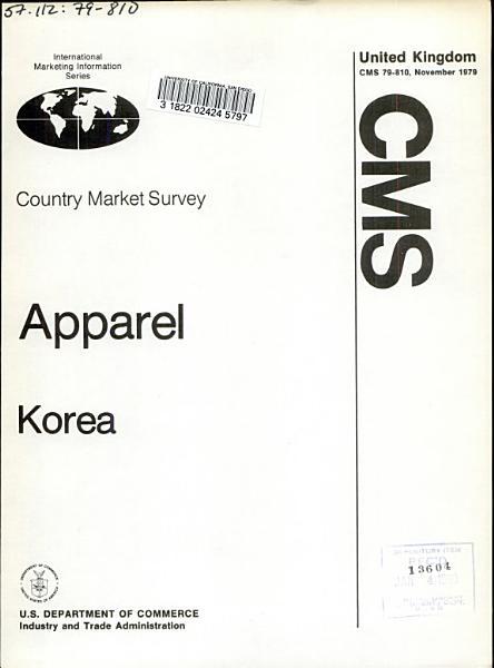 Apparel  Korea PDF