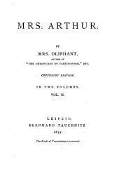 Mrs. Arthur: Volume 2