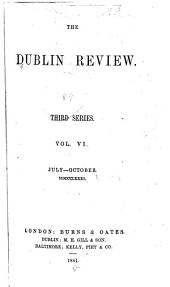 The Dublin Review: Volume 89