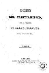 Genio del cristianismo: Volumen 1