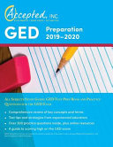GED Preparation 2019 2020 All Subjects Study Guide Book