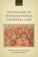 Pluralism in International Criminal Law PDF
