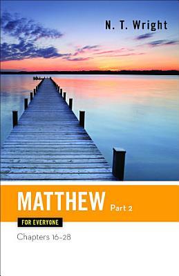Matthew for Everyone  Part 2 PDF