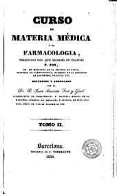 Curso de materia médica ó de farmacologia, 2