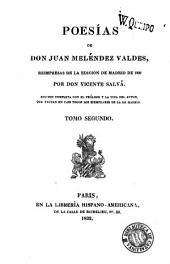 Poesías de don Juan Meléndez Valdes: Volumen 2