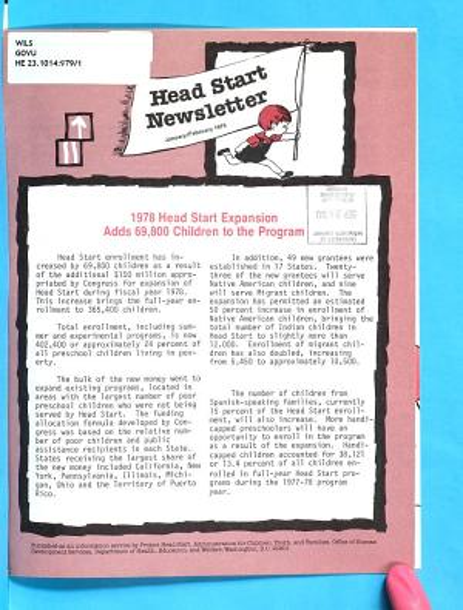 Head Start Newsletter PDF