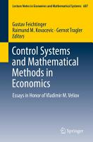Control Systems and Mathematical Methods in Economics PDF