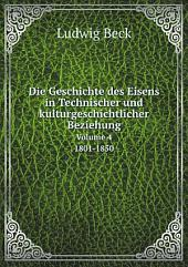 Die Geschichte des Eisens in Technischer und kulturgeschichtlicher Beziehung: Teil 3