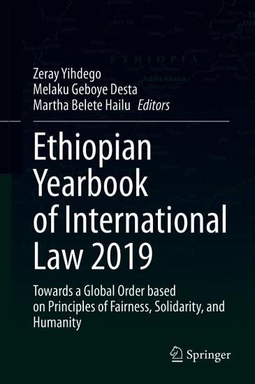 Ethiopian Yearbook of International Law 2019 PDF