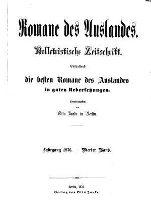 Romane des Auslandes0 PDF