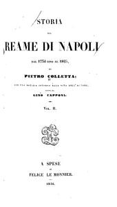 Storia del reame di Napoli dal 1734 sino al 1825: Volume 2