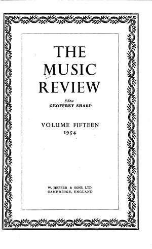The Music Review PDF