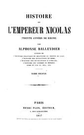 Histoire de L'Empereur Nicolas (Trente annees de Regne)