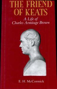The Friend of Keats Book
