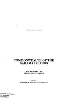 Report of the 1980 Census of Population  Demographic and social characteristics