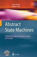 Abstract State Machines PDF