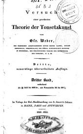 Versuch einer geordneten Theorie der Tonsetzkunst: Band 3