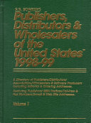 Publishers  Distributors and Wholesalers of the United States  1998 1999 PDF