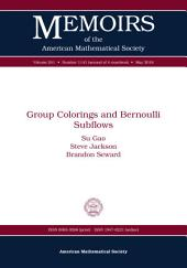 Group Colorings and Bernoulli Subflows