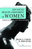 Advanced Health Assessment of Women  Third Edition PDF