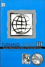 Turning Points Iii Tm' 2007 Ed.