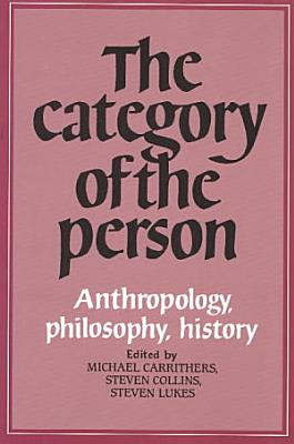 The Category of the Person PDF