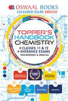 Oswaal Topper s Handbook Chemistry Classes 11   12 Entrance Exams  Engineering   Medical  PDF