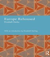 Europe Rehoused PDF